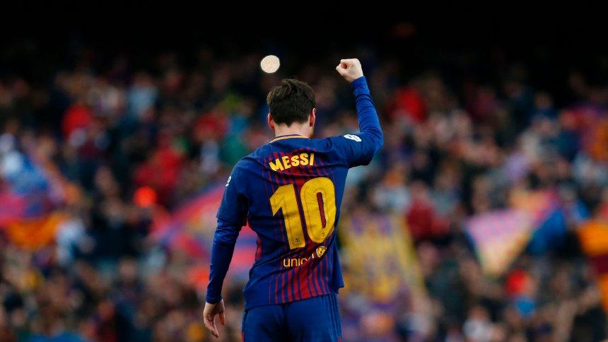 FC Barcelona: Lionel Messi schießt 600. Pflichtspieltor gegen AtléticoMadrid