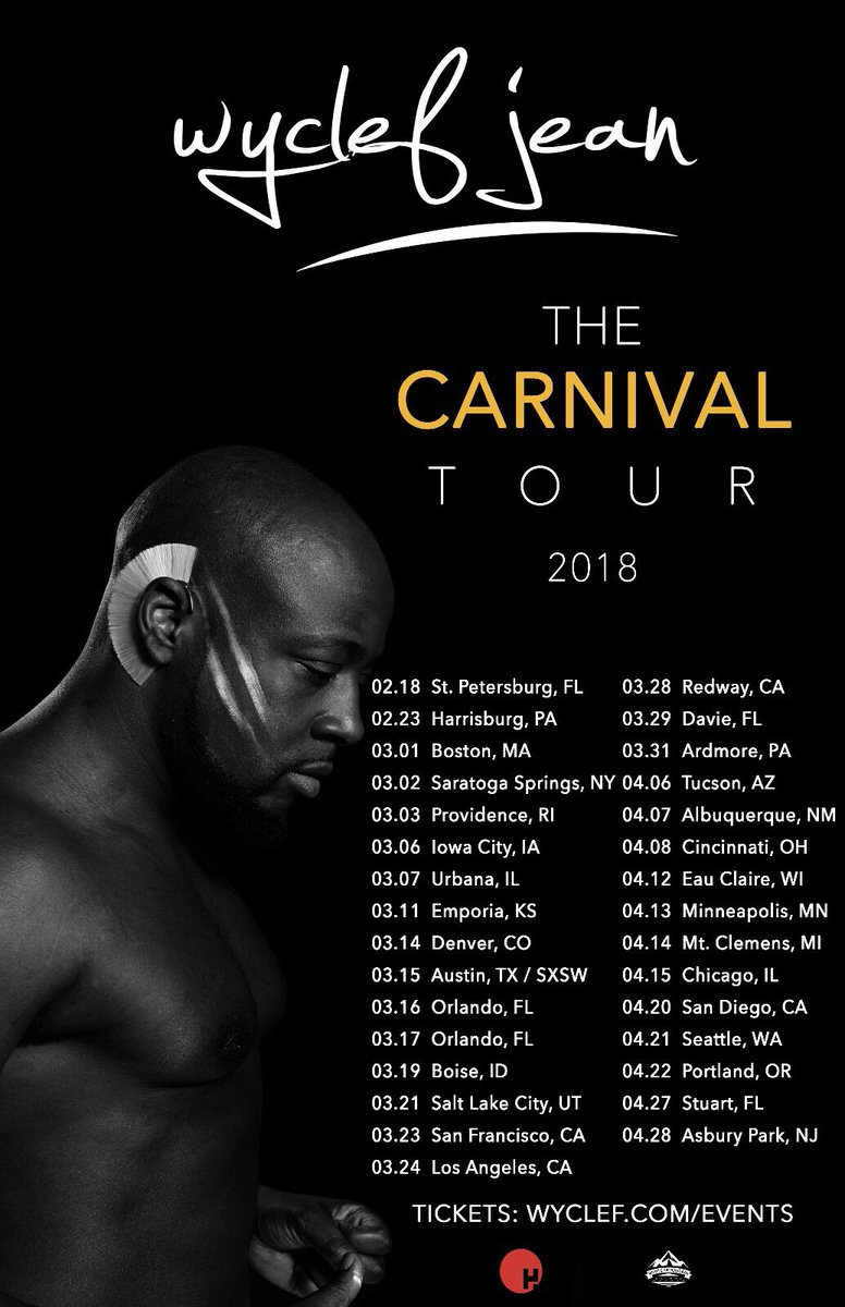 ????#THECARNIVALTOUR ????HAS BEEN ????????????.. and the party just started Warriors???????? TWEET ME YOUR CITY https://t.co/DyQ0VuBzcv https://t.co/4XKwKynpf4