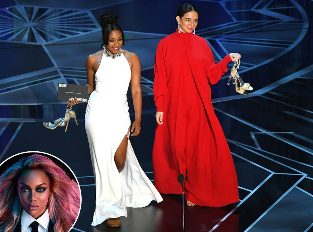 Tyra Banks is ready for Tiffany Haddish to host the Oscars and honestly so are we:
