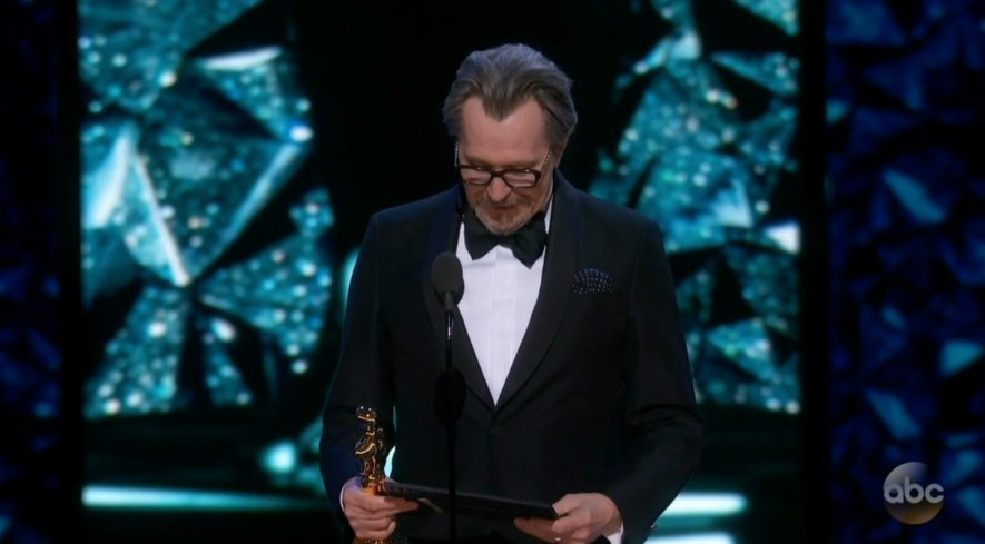 Gary Oldman takes home Best Actor at the Oscars:
