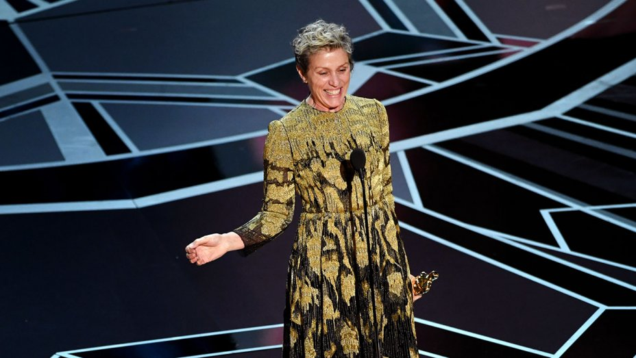 What is an inclusion rider? Frances McDormand's Oscars speech explained