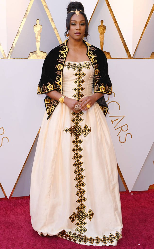 Tiffany Haddish's 2018 Oscars dress is an ode to her late father: