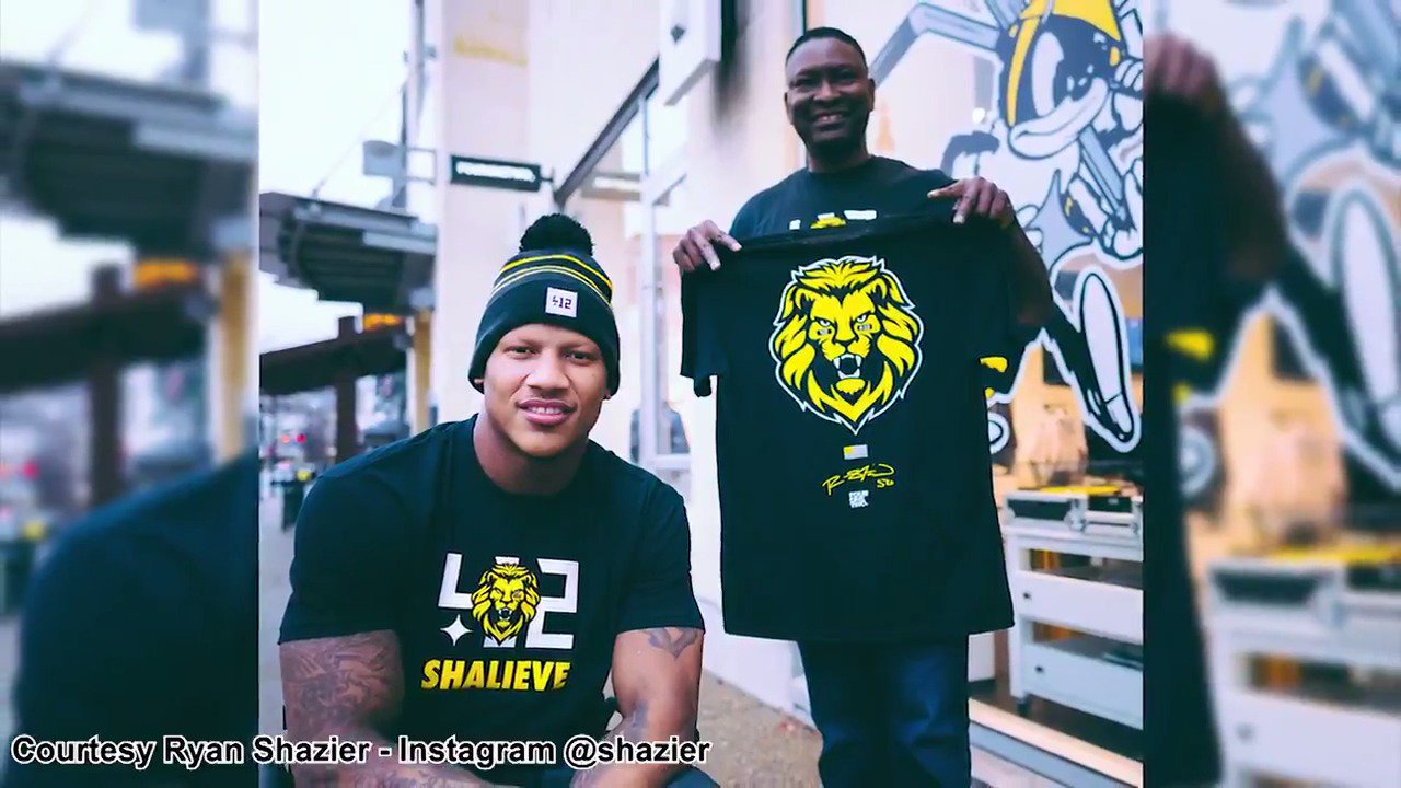 Ryan Shazier continues to be at the forefront of everyone's thoughts.   #SHALIEVE #NFLCombine https://t.co/5ahruZGW3x
