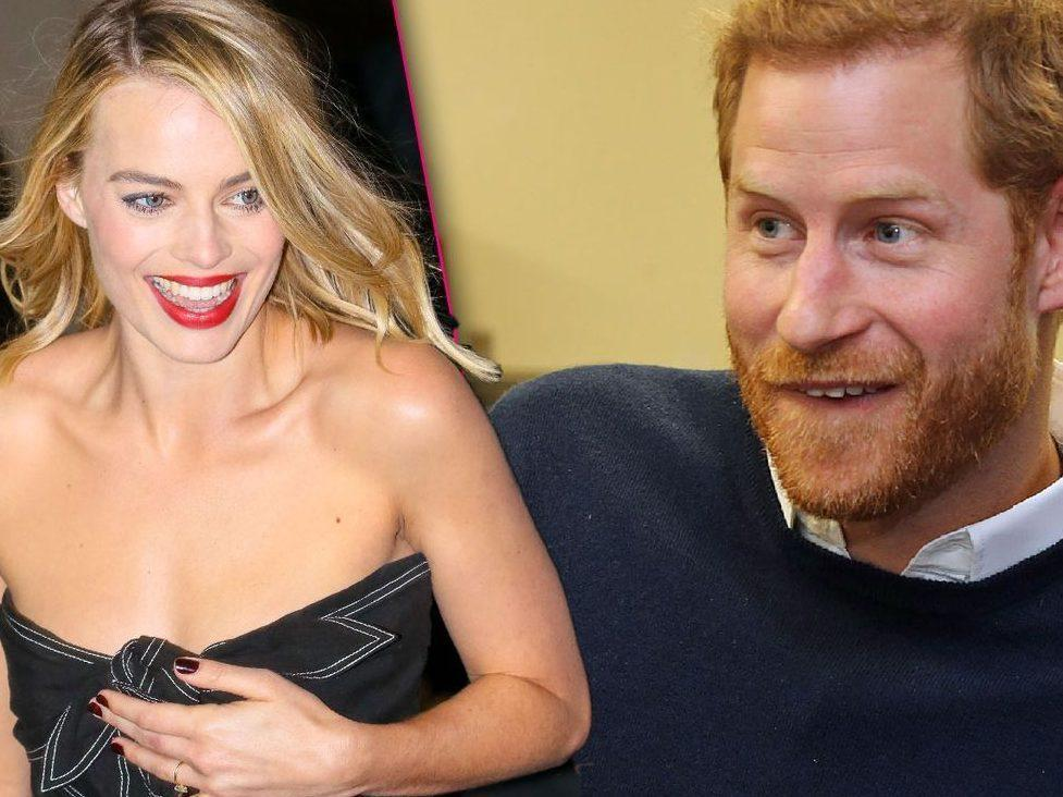 'HE WAS COOL SO COOL WITH IT': Margot Robbie says she once prank called Prince Harry