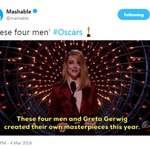 Fans share reactions, memes during the 2018 Oscar Awards