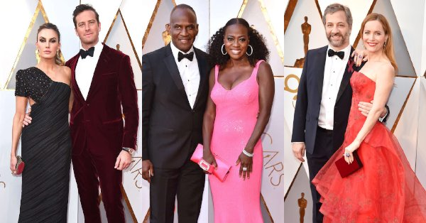 There's nothing like a red-hot couple walking a red carpet together at the Oscars.