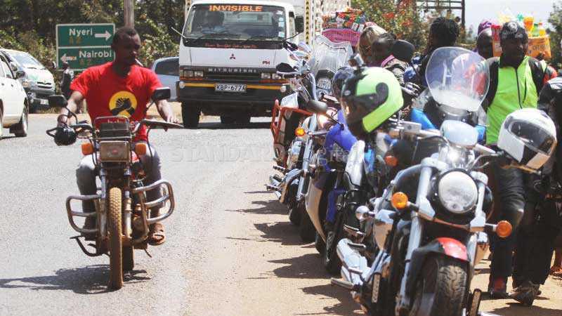 Nyeri imposes curfew on Boda boda as gangs reign terror