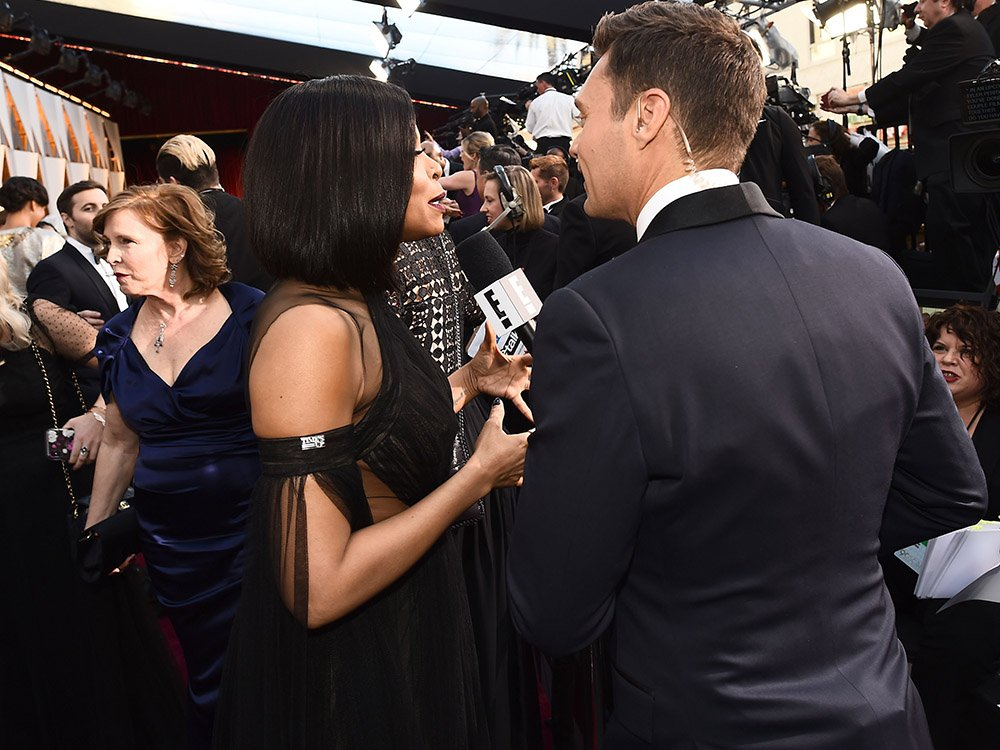 Viewers Think Something Awkward Went Down On With Ryan Seacrest At The Oscars