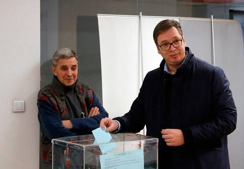 Serbia's ruling populists sweep election in capital Belgrade