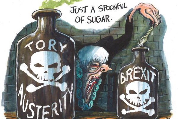 Brexit is Tory austerity with venom and the low paid and insecure will suffer the most. https://t.co/tYn8OFg08O https://t.co/4y9216QhAx