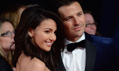 .@MarkWright_has been partying at the Oscars with wife Michelle Keegan and her dad!