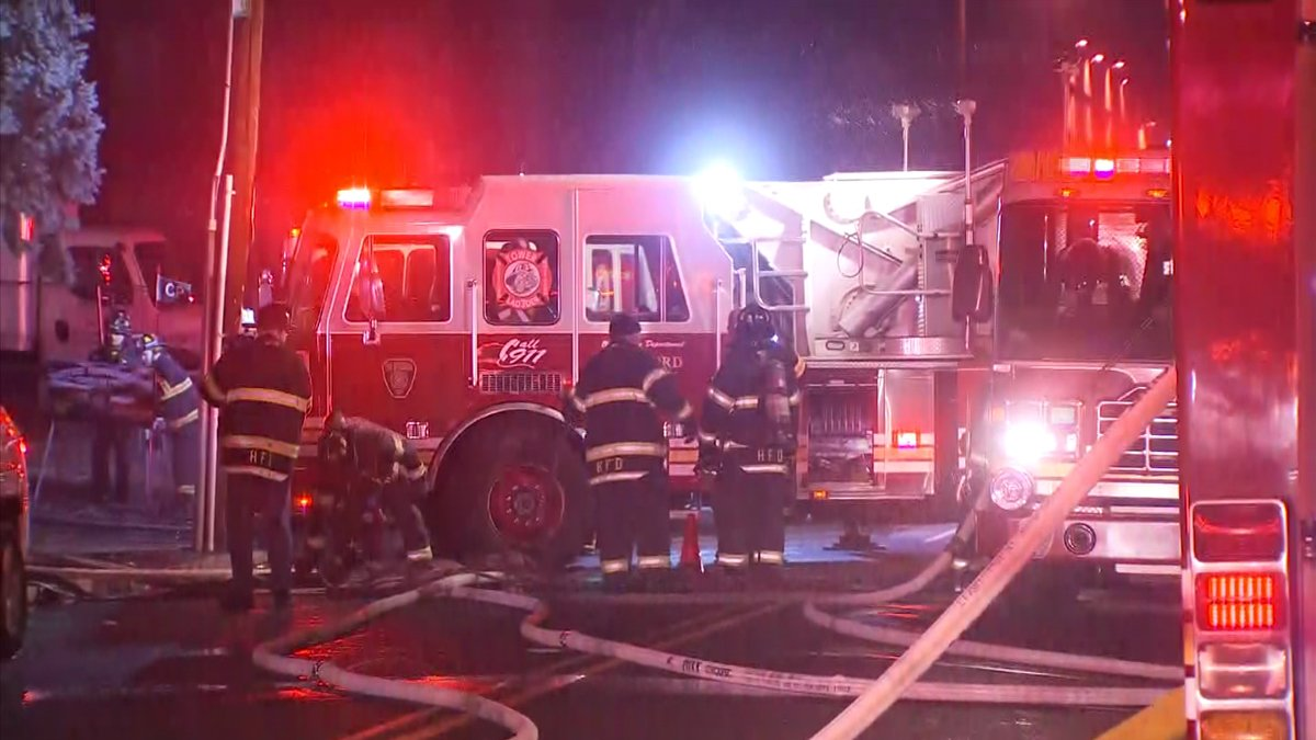 Early Morning Fire Forces Evacuations at Hartford Apartments