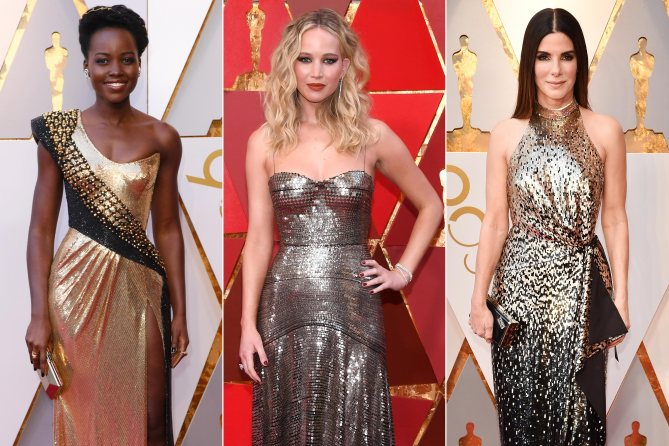 All of the must-see red carpet looks from the 2018 Oscars: