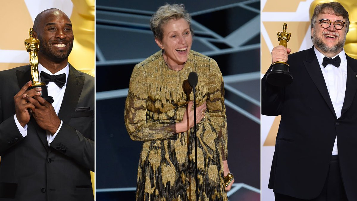 From Kobe winning an Oscar to moving rendition of 'Remember Me,' see top 5 Oscar moments