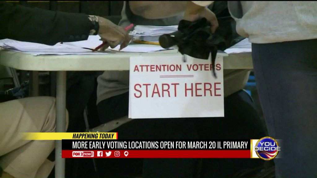 More early voting locations open inIllinois