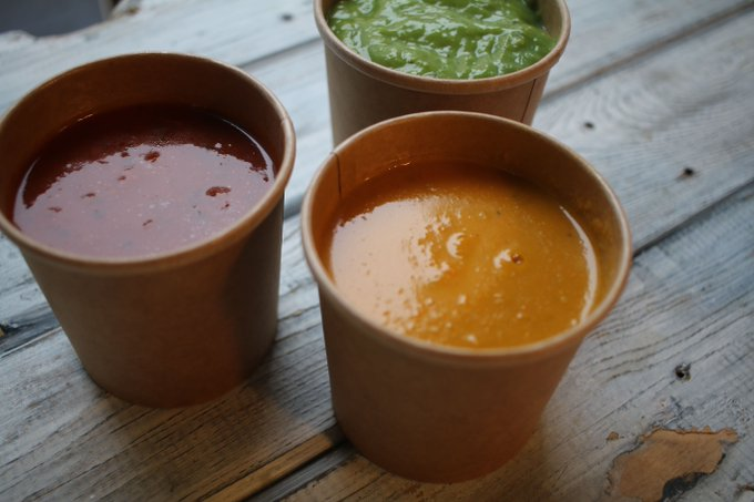 Hope you all had a souper weekend? Three days until the spring menu launches...