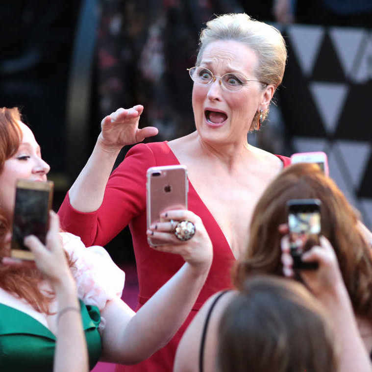 There are no shortage of candid moments from last night's Oscars.