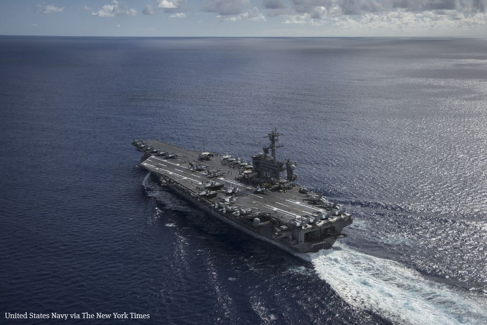 U.S. aircraft carrier visits Vietnam, with a message for China