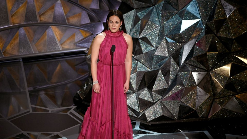 Daniela Vega made Oscars history as the first openly transgender presenter