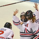 McKenna Brand-led Northeastern scores first Women's Hockey East title