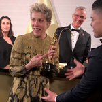 Frances McDormand's Best Actress Oscar stolen at Governors Ball in Hollywood