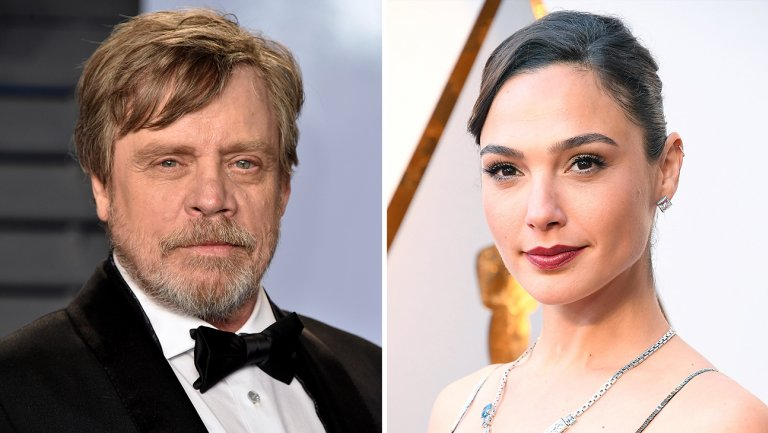 Oscars: @HamillHimself introducing himself to @GalGadot was a classic nerd moment
