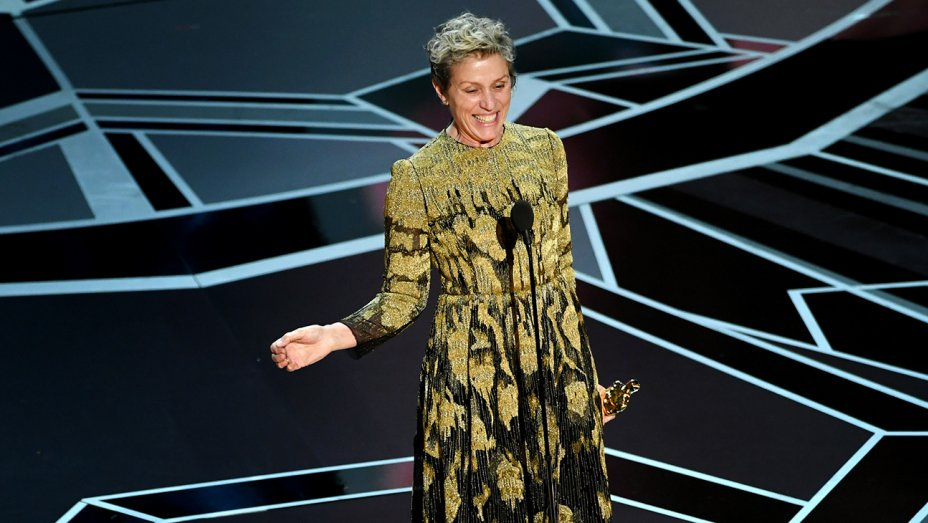 Frances McDormand's Oscars statue thief arrested