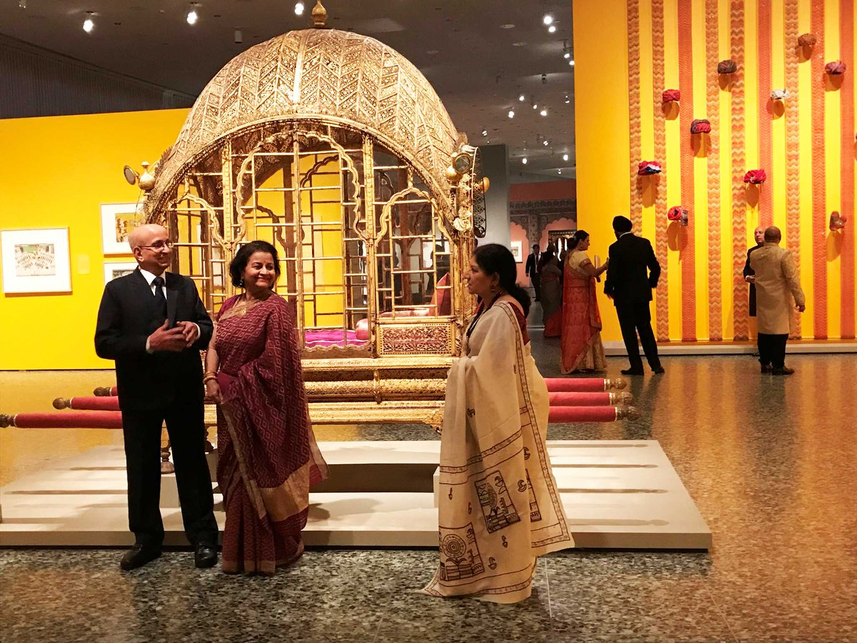 Museum of Fine Arts, Houston parties royally with a Maharaja