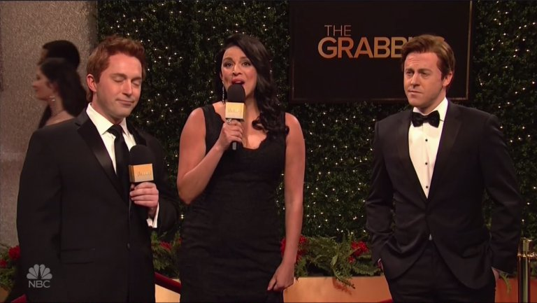 "ICYMI: SNL spoofed the Oscars with ""The Grabbies"""