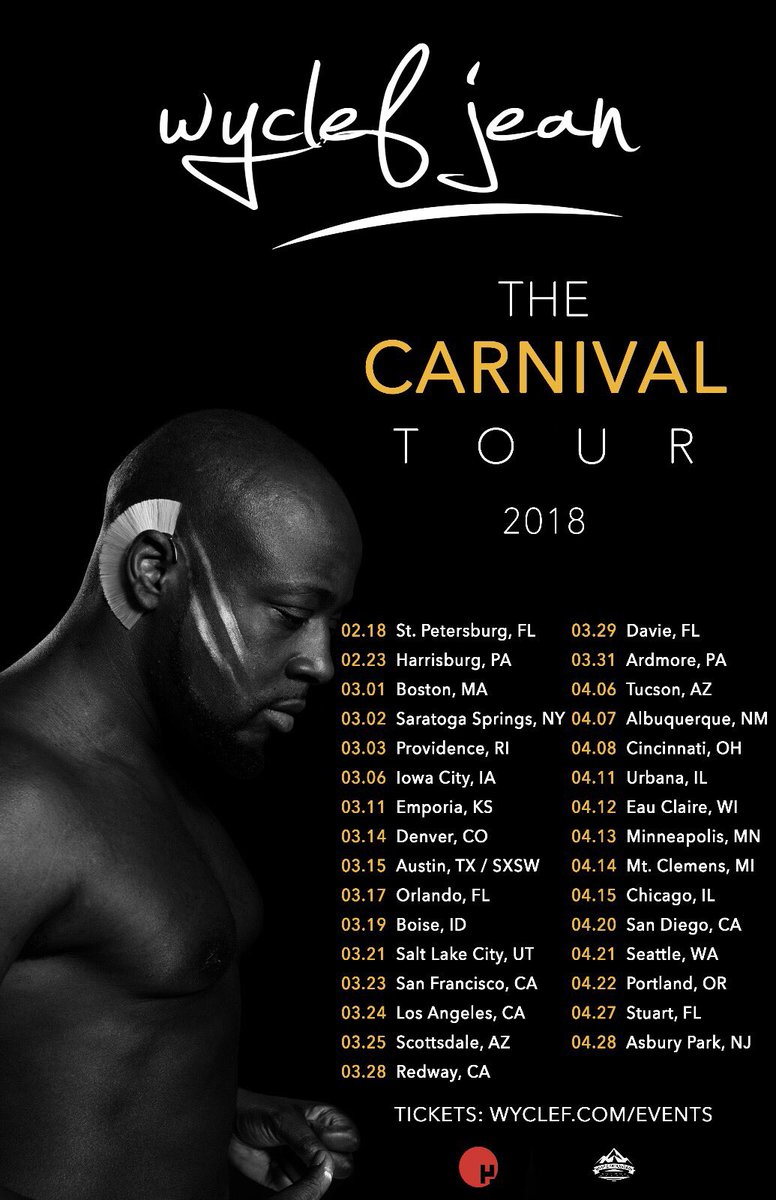 #THECARNIVALTOUR 2018 ????????WHICH CITY ARE YOU GOING TO WARRIORS ??? ???????????????? https://t.co/DyQ0VuBzcv https://t.co/p7NAmMrwZR