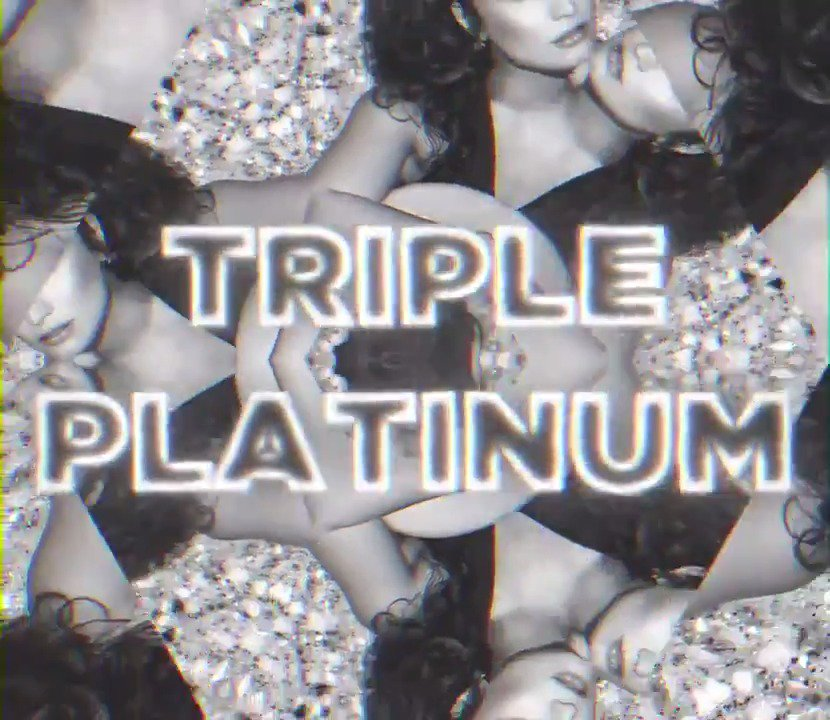 #SORRYNOTSORRY is now officially triple platinum?!? Thank you guys so much ❤️❤️❤️ https://t.co/G4dUOdCulE