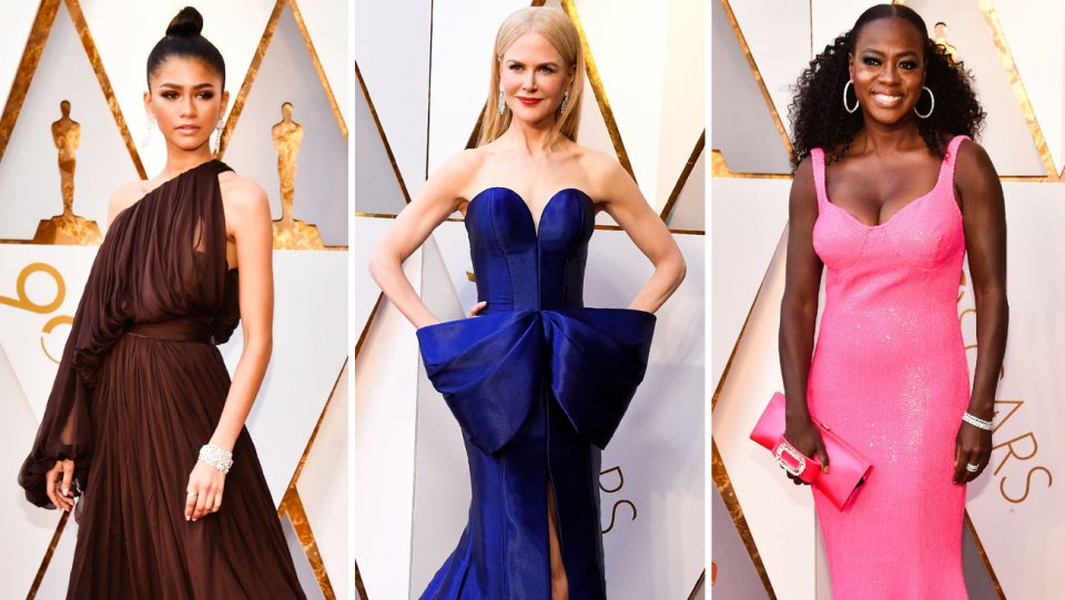 This year's Oscars best dressed