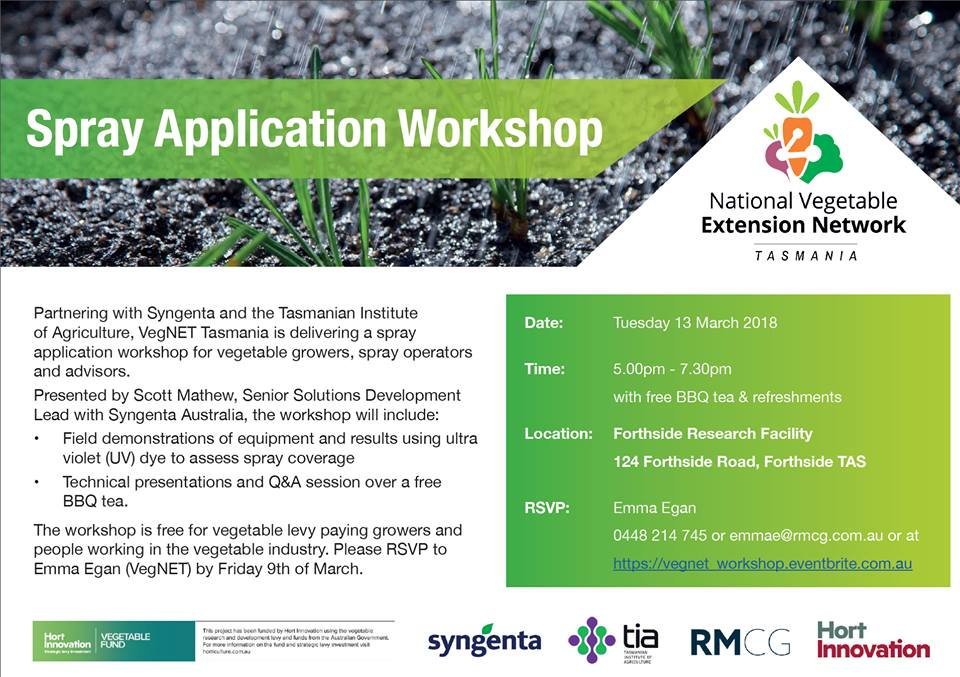 "Check out ""Spray Application Workshop at..."