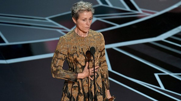 Man arrested for stealing Frances McDormand's Oscar; actress, trophy reunited