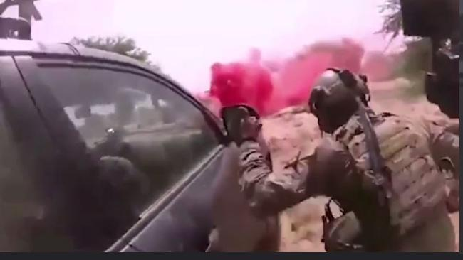 ISIS ambush on US soldiers in Niger caught on camera