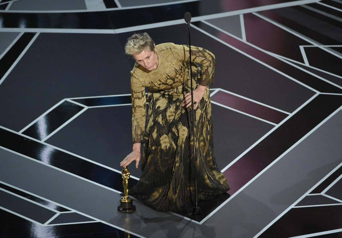 Man arrested for allegedly stealing Frances McDormand's Oscar
