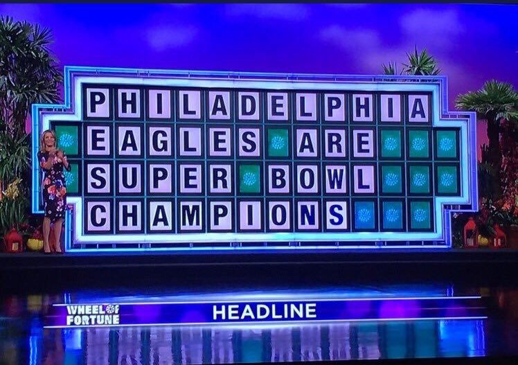 We'd like to solve the puzzle, Pat.   #FlyEaglesFly https://t.co/NAirQYoMGu