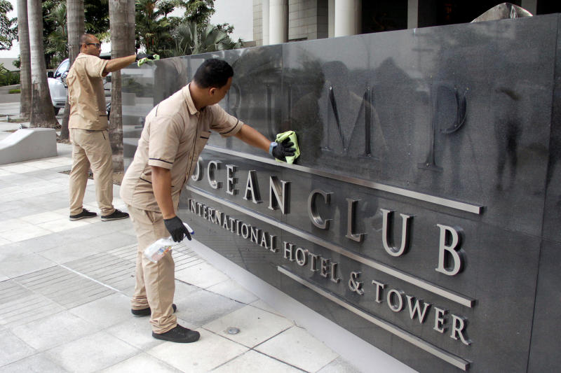 Panama court evicts Trump management from hotel in bitter spat
