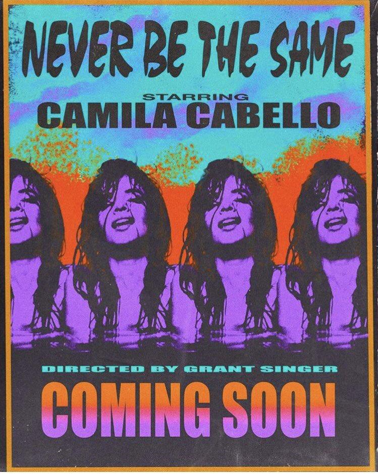 #NeverBeTheSameVideoThursday @Camila_Cabello �� https://t.co/LBFfePJaSe