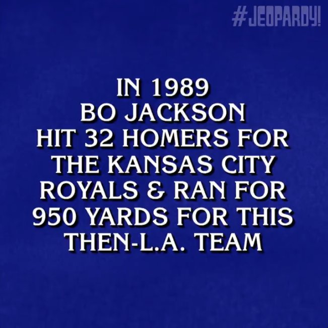 We've got a guess, @Jeopardy. #BoKnows https://t.co/sLMH7omBkg
