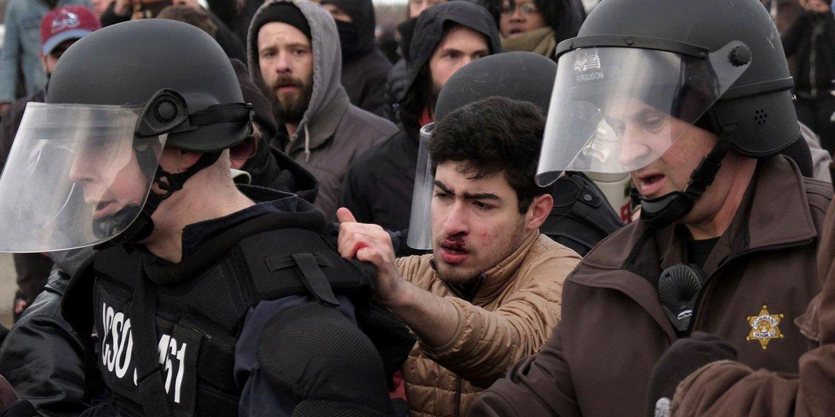 Violence erupts on MSU campus as Richard Spencer speaks