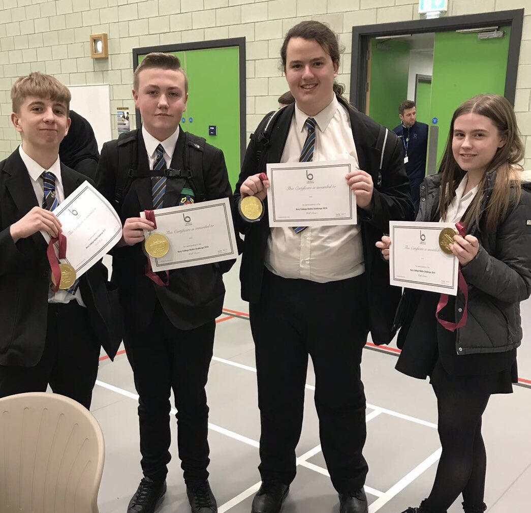 test Twitter Media - Congratulations to our year 10 Maths team-7th out of 21 schools!#BuryMathsChallenge #maths@castlebrook https://t.co/eX3Z1mJowk