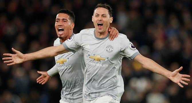 Manchester United make comeback as Crystal Palace fall 2-3 to Red Devils
