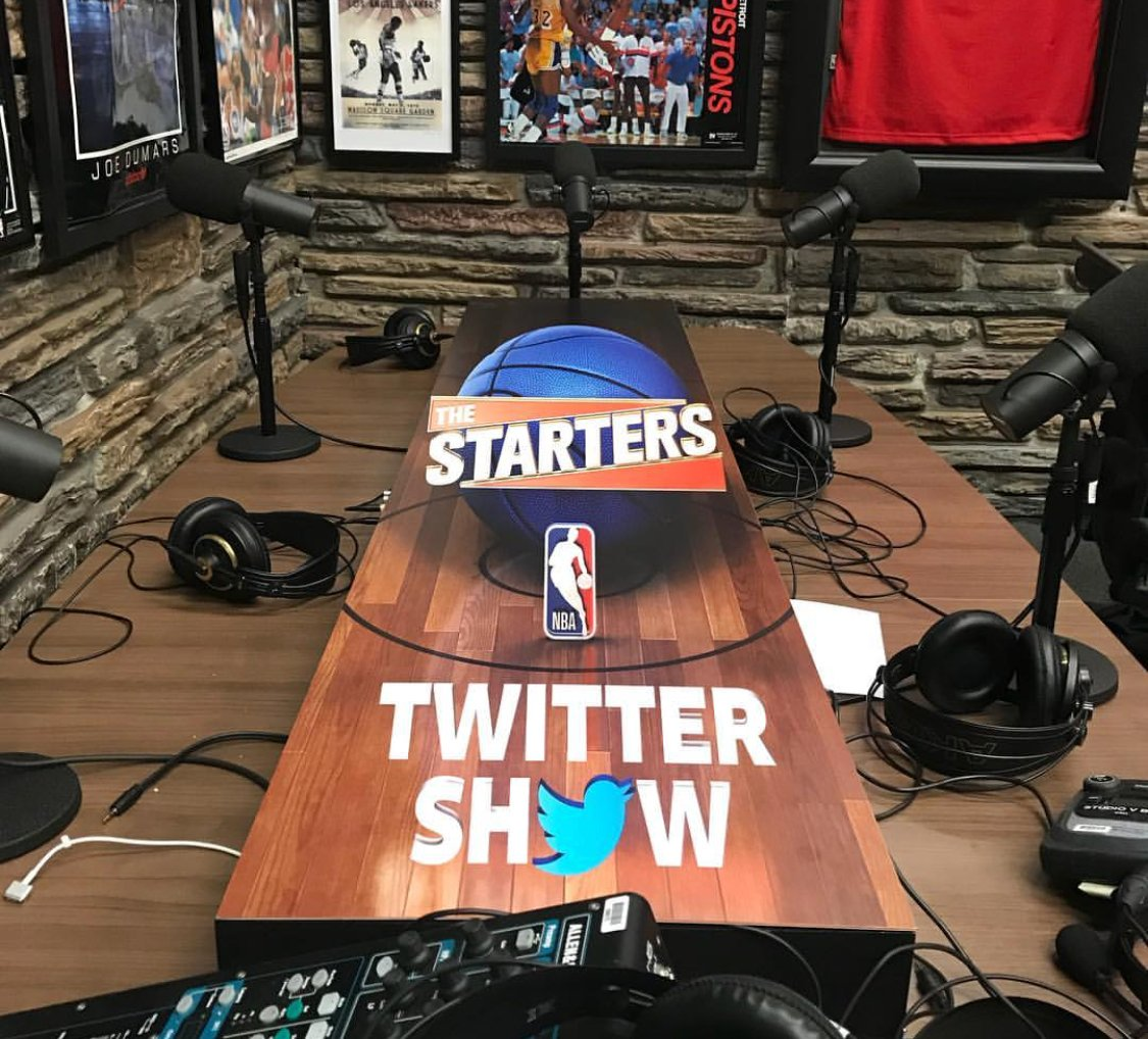 Stay tuned for @TheStarters LIVE Twitter Show at 11am/et! https://t.co/XqLvn4Cz6M