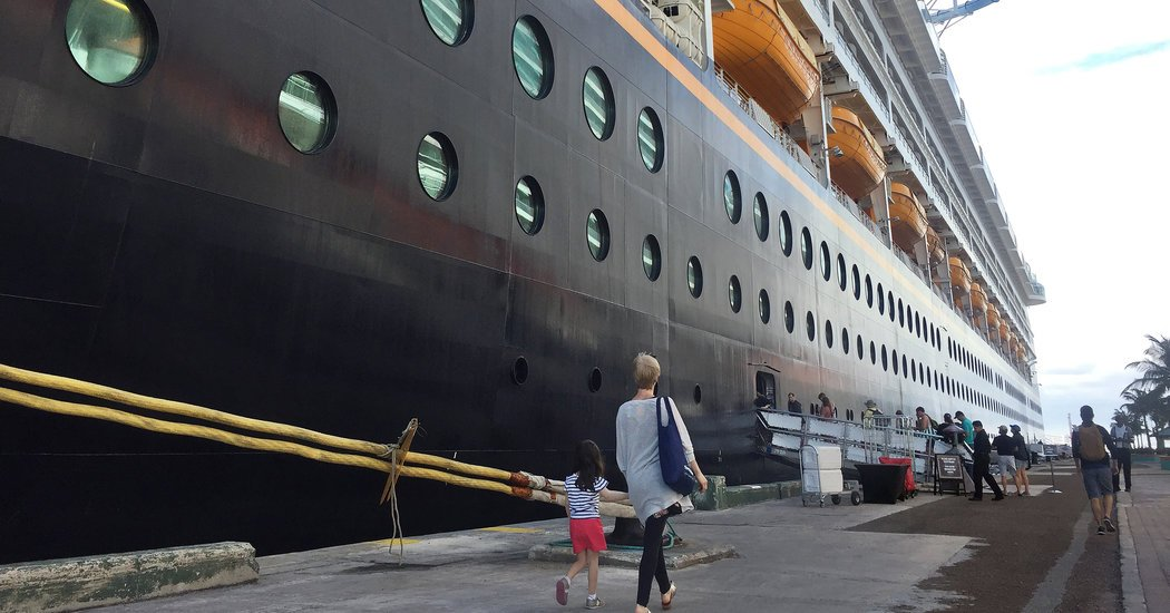 On a Disney Cruise, It's a Stressful World (After All)