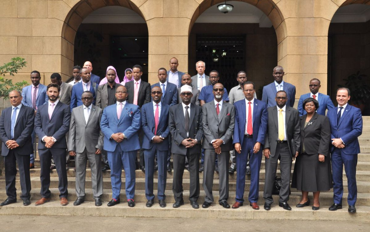 Somali judges in three days mock trial at Kenya's Supreme Court