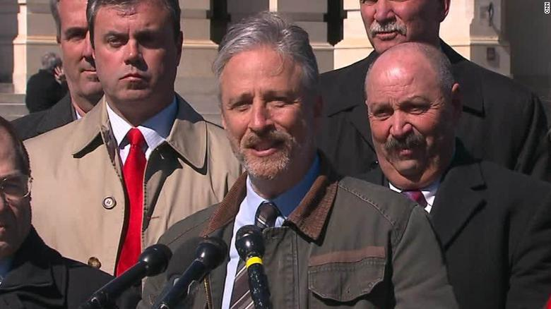 Comedian Jon Stewart accuses White House of 'screwing' 9/11 firstresponders