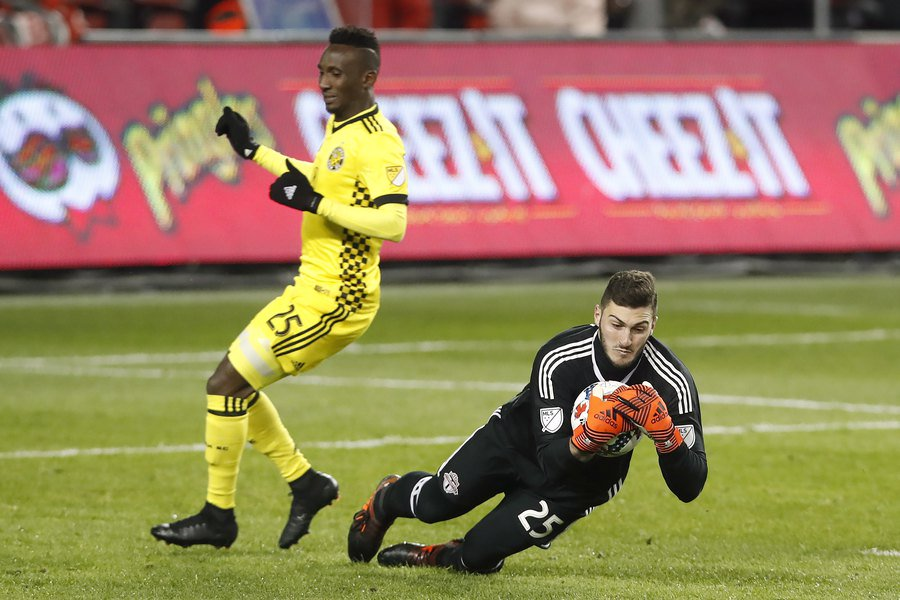 Major League Soccer Week in Review: Visiting Crew treat defending MLS champs rudely