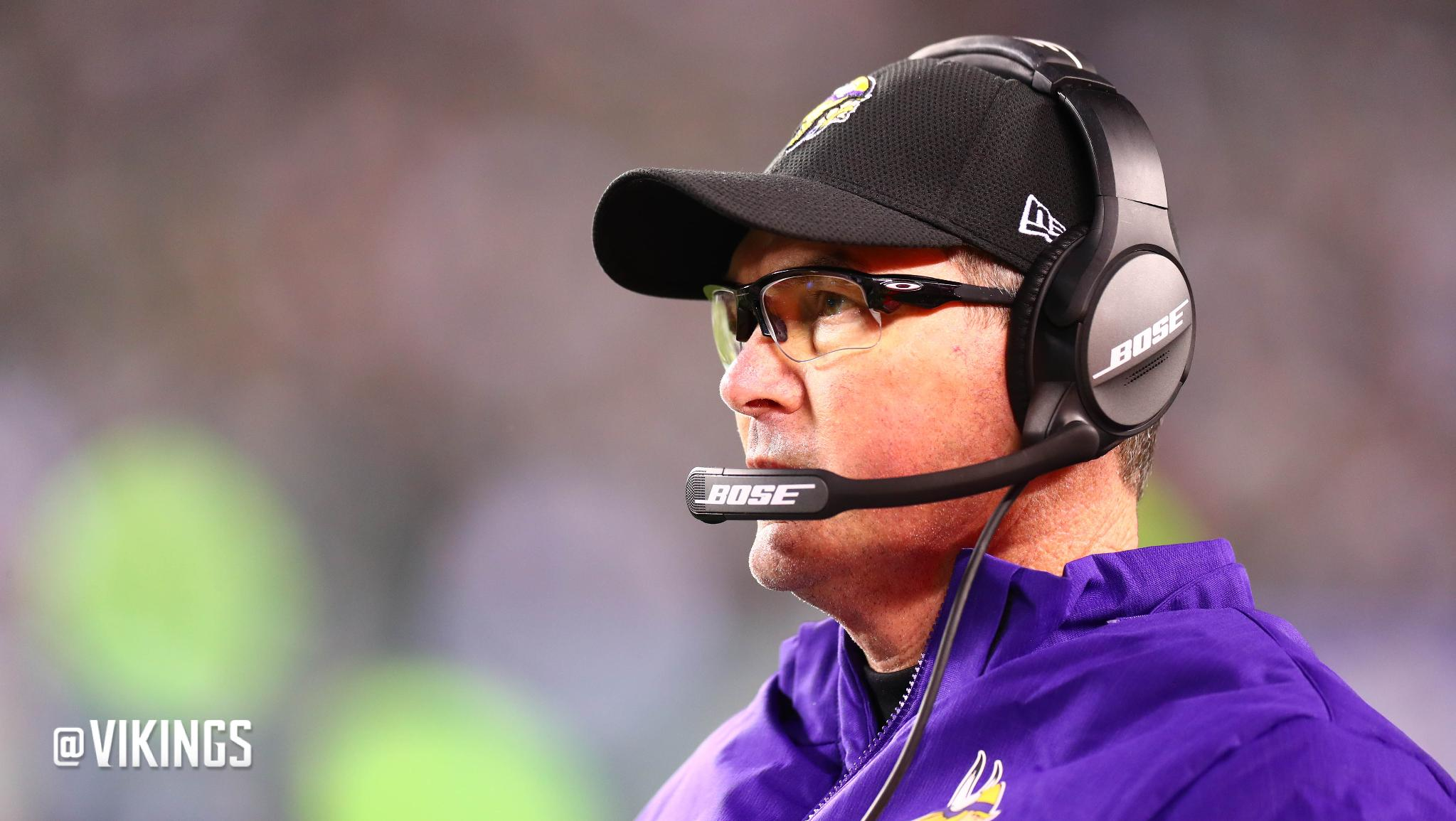 Mike Zimmer was recently ranked #8 in @rotoworld's list of top NFL coaches.  ��: https://t.co/3Peg1lkKFm https://t.co/djmesgQL4c