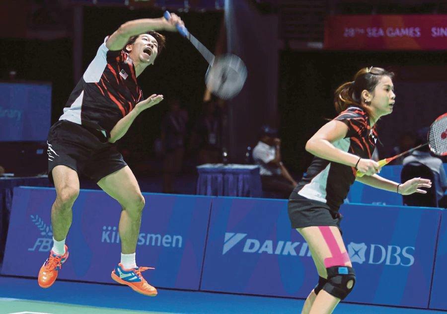 Peng Soon-Liu Ying raring for action at German Open